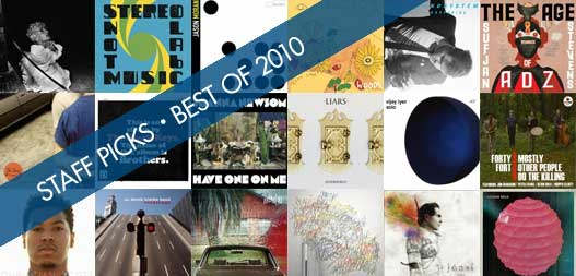 Staff Picks: Best of 2010