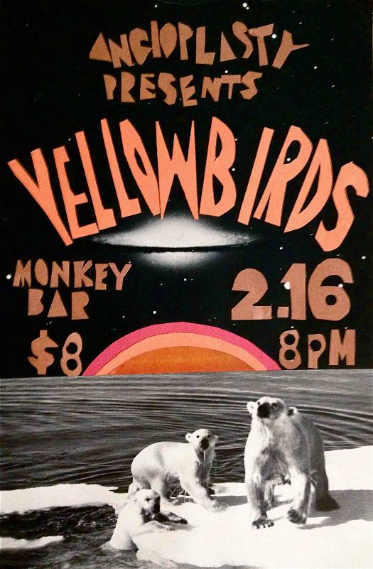 Yellowbirds at Monkey House