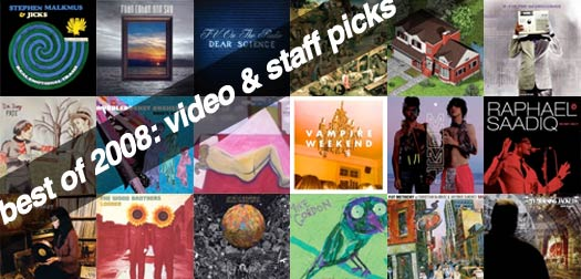 State of Mind: Best of 2008 Video and Staff Picks